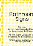 Classroom Signs BUNDLE!!