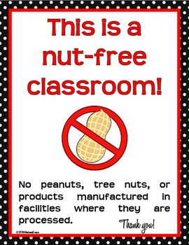 CLASSROOM SIGNS Classroom Management Red Black Decor Procedures Information