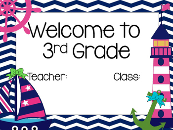 Classroom Signs and Bulletin Board