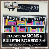 Classroom Signs and Bulletin Boards Set