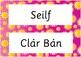Classroom Signs in Irish (Gaeilge)