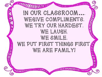Classroom Signs/Quotes