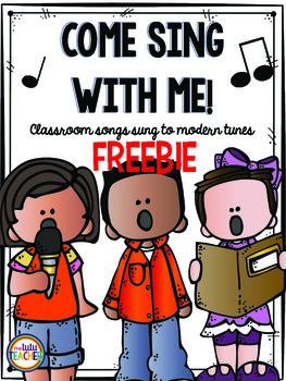 Classroom Sing Alongs: Freebie