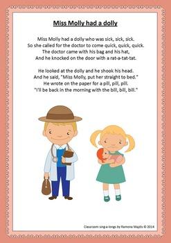 Nursery Rhymes Song Book: Classroom Sing-a-longs