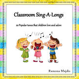 Nursery Rhymes Song Book: Classroom Sing-a-longs