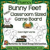 Classroom Sized Bunny Feet Sight Word Game Board