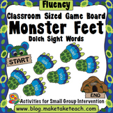 Sight Words - Classroom Sized Monster Sight Word Game Board