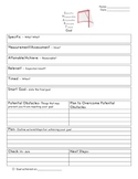 Classroom: Smart Goal-Setting Form