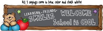 Classroom Smiles Borders & Printables Download