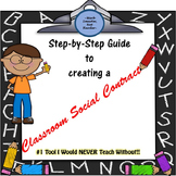 Classroom Social Contract- Behavior Management System