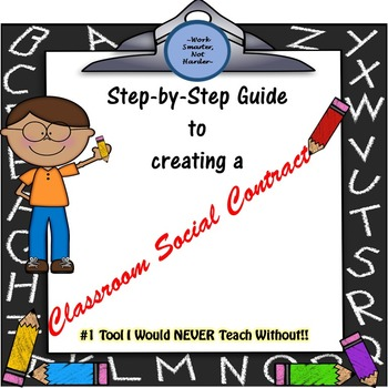 Classroom Social Contract- Behavior Management System
