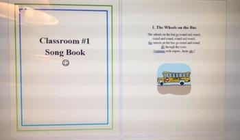 Classroom Song Book