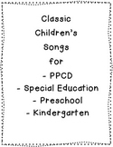 Classroom Song Book with 37 Classic Children's Songs