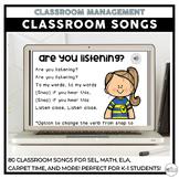 Classroom Songs | Grades K-2