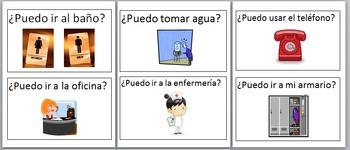 Spanish 1 Classroom Management: Classroom Spanish Posters