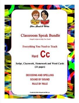 Classroom Speak Bundle:  Everything You Need to Teach Hard C