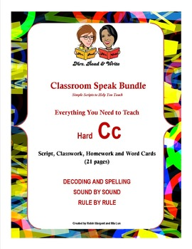 Classroom Speak Bundle:  Everything You Need to Teach Hard C