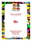 "Classroom Speak:  Script to Teach the ""N"" Sound"