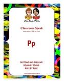 "Classroom Speak:  Script to Teach the ""P"" Sound"
