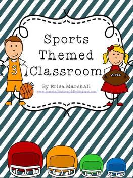 Classroom Sports Theme Bundle