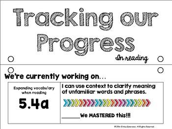 Classroom Standards Tracker- 5th Grade Virginia Standards of Learning