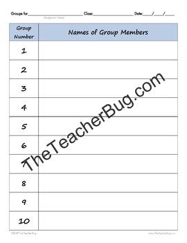 Classroom Starter File Bundle