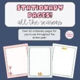 Classroom Stationary | Seasons and Holidays | Back to Scho