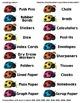 Ladybug Classroom Stationery Labels / Stickers