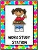Polka Dots {Classroom Stations Posters}