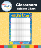 Classroom Sticker Chart