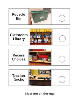 Classroom Sticker Hunt