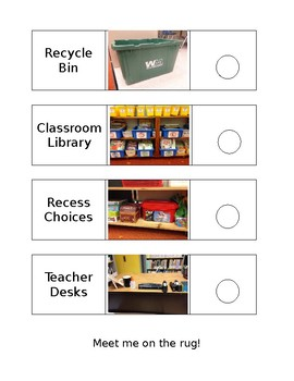 Classroom Sticker Hunt