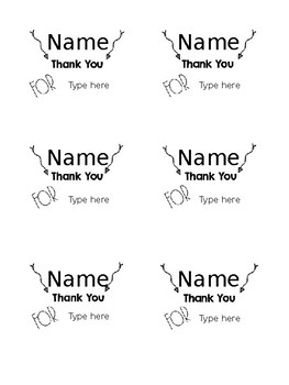 Classroom Sticky Notes ~ Telling Students Thank You!