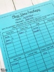 Classroom Store Tracking Sheet - Great for Classroom Economy
