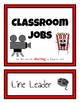 Classroom Student Jobs Clip Chart (Movie Stars Version)