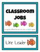 Classroom Student Jobs Clip Charts Bundle