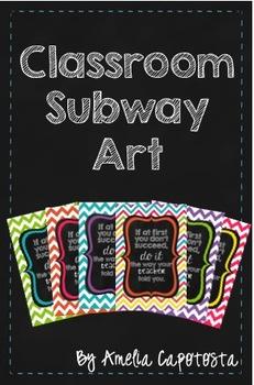 Classroom Subway Art Freebie1
