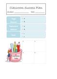 Classroom Success Plan, Informal BIP