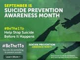 Classroom Suicide Prevention Presentation