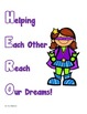 Classroom Superhero Posters Free!