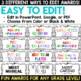 End of Year Awards - Editable Superlative Awards
