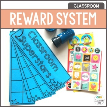 Classroom Superstars Sticker and Stamp Rewards Behavior Management