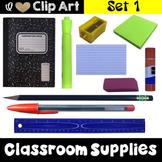 Classroom Supplies Clip Art