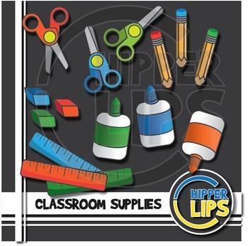Classroom Supplies Clip Art Fun!