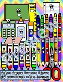 Classroom Supplies Clipart Cartoons