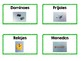 Bilingual Classroom Supplies Labels (English and Spanish)