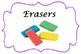 Classroom Supplies Labels- English
