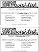 Classroom Supplies Wish List: Editable Supply List for Secondary ELA Teachers