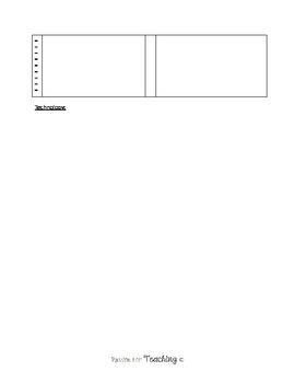 Classroom Supply Checklist - EDITABLE