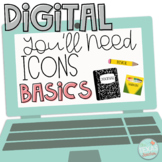 Assignment Slides | You Need Supply Icons DIGITAL BASICS